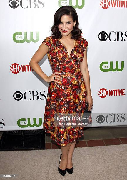 Sophia Bush arrives at the 2009 TCA Summer Tour CBS CW and Showtime AllStar Party at the Huntington Library on August 3 2009 in Pasadena California