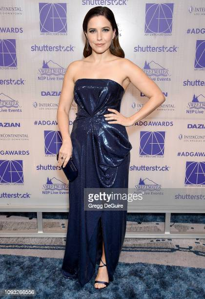 Sophia Bush arrives at the Art Directors Guild 23rd Annual Excellence In Production Design Awards at InterContinental Los Angeles Downtown on...