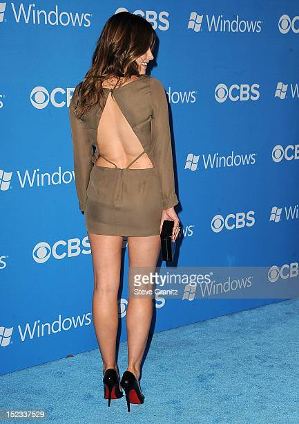 Sophia Bush arrives at the CBS 2012 Fall Premiere Party at Greystone Manor Supperclub on September 18 2012 in West Hollywood California