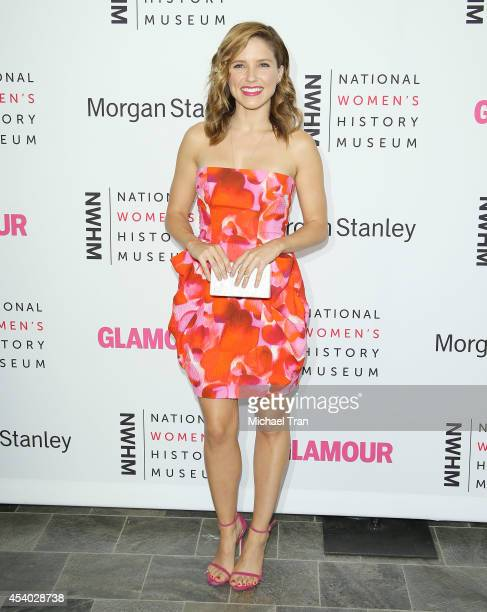 Sophia Bush arrives at the National Women's History Museum's 3rd Annual Women Making History event held at Skirball Cultural Center on August 23,...