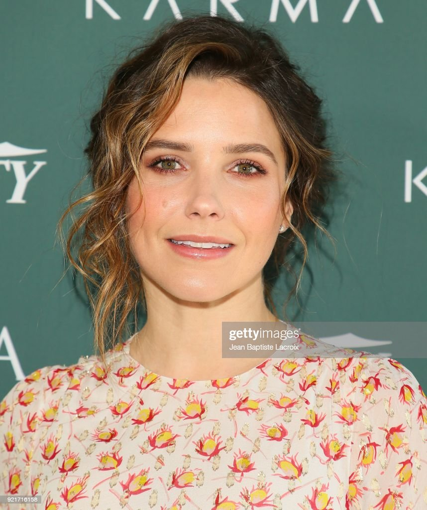 Sophia Bush arrives to the Council of Fashion Designers of America luncheon held at Chateau Marmont on February 20, 2018 in Los Angeles, California.