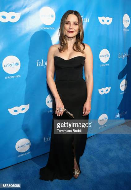 Sophia Bush at the UNICEF Next Generation Masquerade Ball at Clifton's Republic on October 27 2017 in Los Angeles California