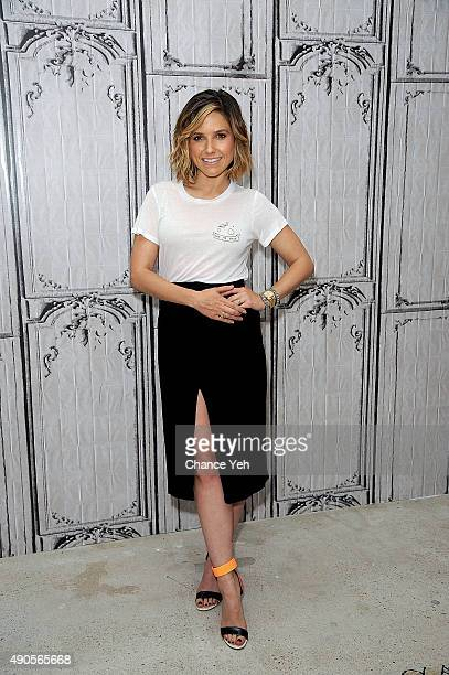 Sophia Bush attends AOL Build presents 'Chicago PD' at AOL Studios In New York on September 29 2015 in New York City