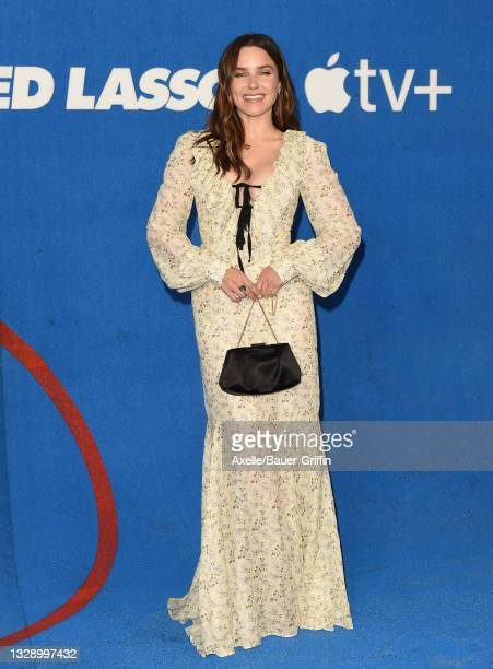 """Sophia Bush attends Apple's """"Ted Lasso"""" Season 2 Premiere at Pacific Design Center on July 15, 2021 in West Hollywood, California."""
