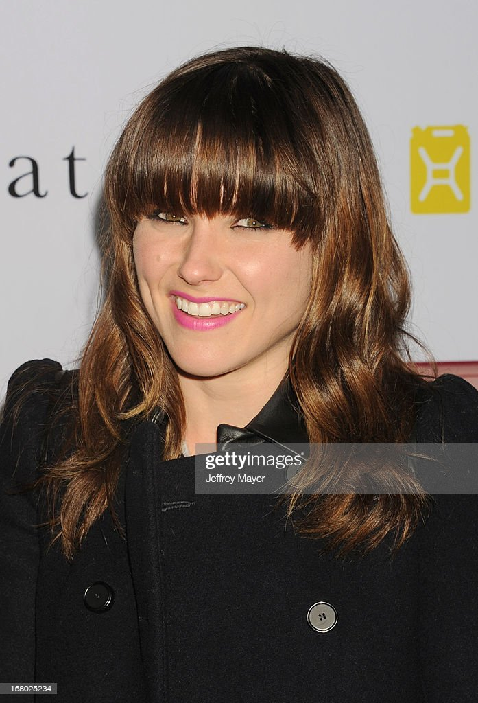 Sophia Bush attends Charlie Ebersol's 'Charlieland' Birthday Party And Charity: Water Fundraiser on December 8, 2012 in Los Angeles, California.