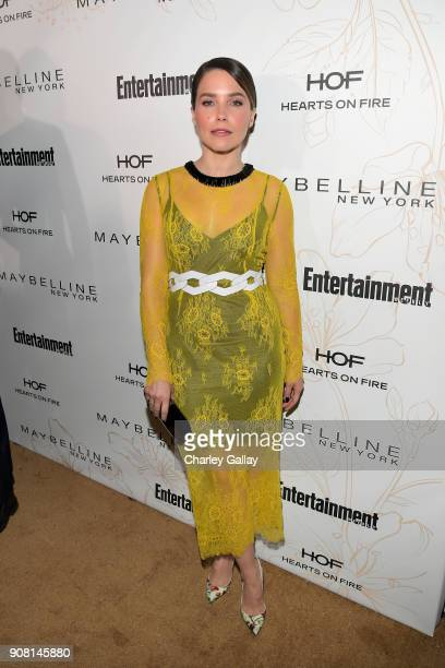 Sophia Bush attends Entertainment Weekly's Screen Actors Guild Award Nominees Celebration sponsored by Maybelline New York at Chateau Marmont on...