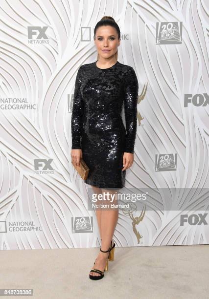 Sophia Bush attends FOX Broadcasting Company Twentieth Century Fox Television FX And National Geographic 69th Primetime Emmy Awards After Party at...