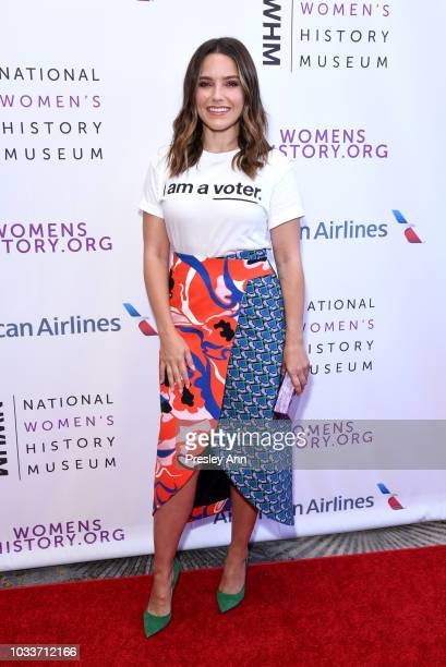 Sophia Bush attends National Women's History Museum's 7th Annual Women Making History Awards at The Beverly Hilton Hotel on September 15 2018 in...