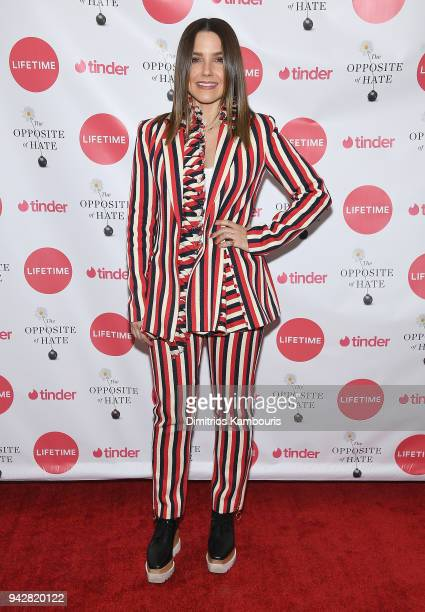 Sophia Bush attends Sally Kohn Celebrates The Launch Of Her New Book 'The Opposite Of Hate' at Guggenheim Museum on April 6 2018 in New York City