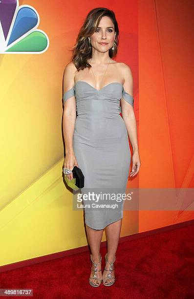 Sophia Bush attends the 2014 NBC Upfront Presentation at The Jacob K. Javits Convention Center on May 12, 2014 in New York City.