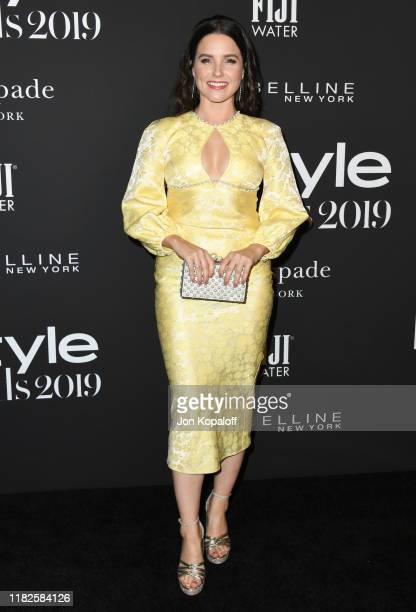 Sophia Bush attends the 2019 InStyle Awards at The Getty Center on October 21 2019 in Los Angeles California