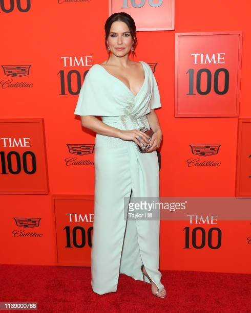 Sophia Bush attends the 2019 Time 100 Gala at Frederick P Rose Hall Jazz at Lincoln Center on April 23 2019 in New York City