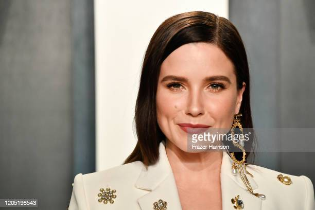 Sophia Bush attends the 2020 Vanity Fair Oscar Party hosted by Radhika Jones at Wallis Annenberg Center for the Performing Arts on February 09 2020...