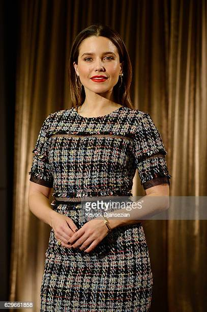 Sophia Bush attends the 23rd annual SAG Awards nominations announcement at Pacific Design Center on December 14 2016 in West Hollywood California