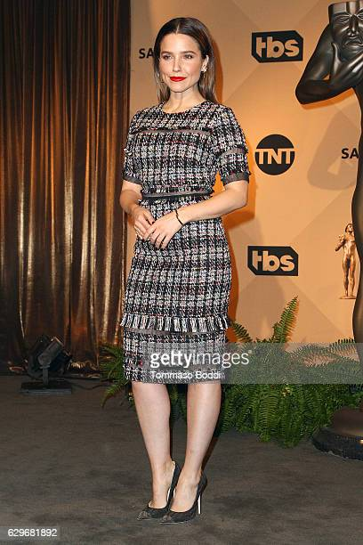 Sophia Bush attends the 23rd Annual SAG Awards Nominations Announcement at Pacific Design Center on December 14, 2016 in West Hollywood, California.