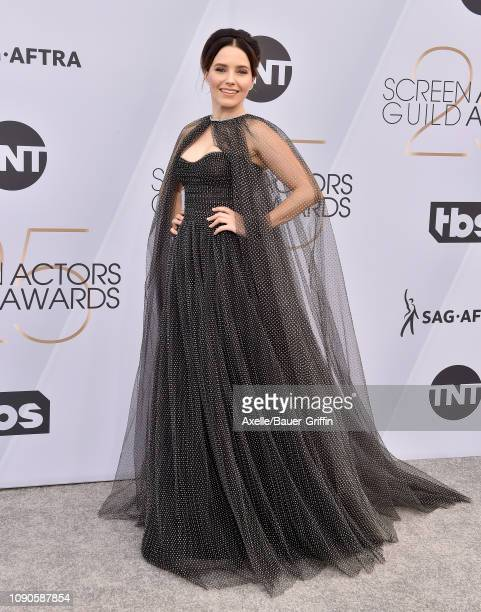 Sophia Bush attends the 25th Annual Screen Actors Guild Awards at The Shrine Auditorium on January 27 2019 in Los Angeles California