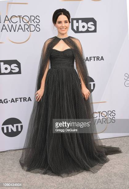 Sophia Bush attends the 25th Annual Screen ActorsGuild Awards at The Shrine Auditorium on January 27 2019 in Los Angeles California 480645
