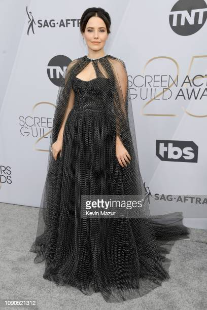 Sophia Bush attends the 25th Annual Screen ActorsGuild Awards at The Shrine Auditorium on January 27, 2019 in Los Angeles, California. 480568