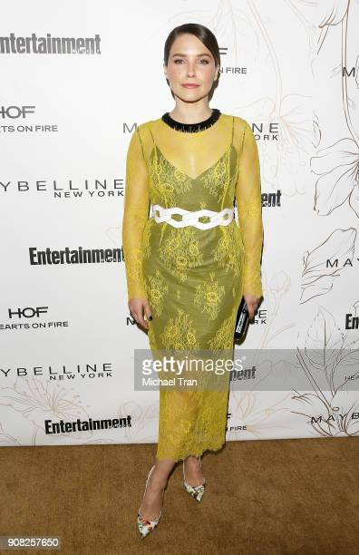 Sophia Bush attends the Entertainment Weekly hosts celebration honoring nominees for The Screen Actors Guild Awards held on January 20 2018 in Los...