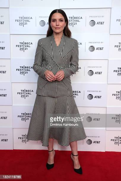 """Sophia Bush attends the """"False Positive"""" premiere during the 2021 Tribeca Festival at Brookfield Place on June 17, 2021 in New York City."""
