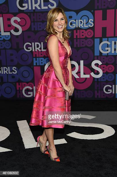 Sophia Bush attends the Girls season four series premiere at American Museum of Natural History on January 5 2015 in New York City