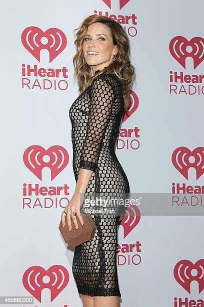 Sophia Bush attends the iHeart Radio Music Festival night 2 press room held at MGM Grand Resort and Casino on September 20 2014 in Las Vegas Nevada