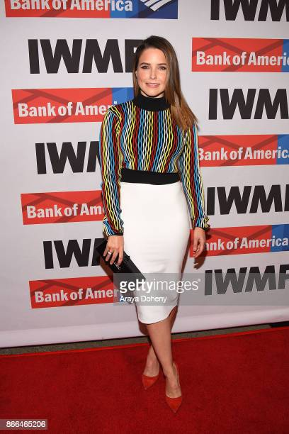Sophia Bush attends the International Women's Media Foundation 2017 Courage in Journalism Awarddss at NeueHouse Hollywood on October 25 2017 in Los...