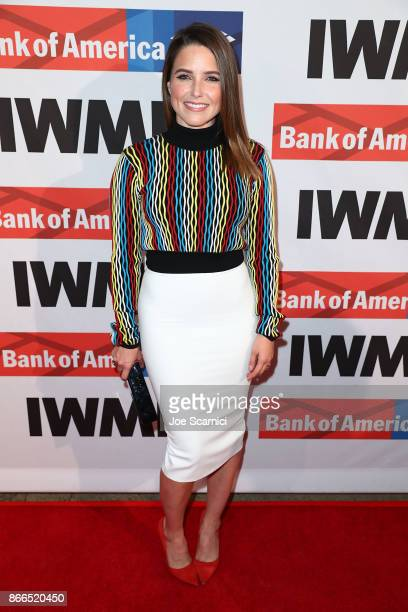 Sophia Bush attends the International Women's Media Foundation 2017 Courage In Journalism Awards at NeueHouse Hollywood on October 25 2017 in Los...