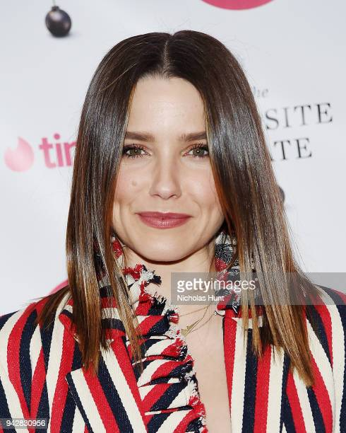 Sophia Bush attends the Launch Party of Sally Kohn's new book The Opposite Of Hate at Guggenheim Museum on April 6 2018 in New York City