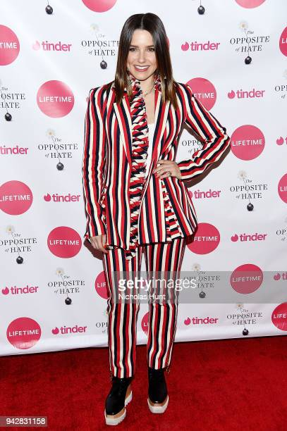 """Sophia Bush attends the Launch Party of Sally Kohn's new book """"The Opposite Of Hate"""" at Guggenheim Museum on April 6, 2018 in New York City."""