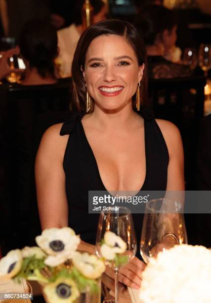 Sophia Bush attends the Live Unforgettable Dinner Series at Waldorf Astoria Chicago on October 12 2017 in Chicago Illinois