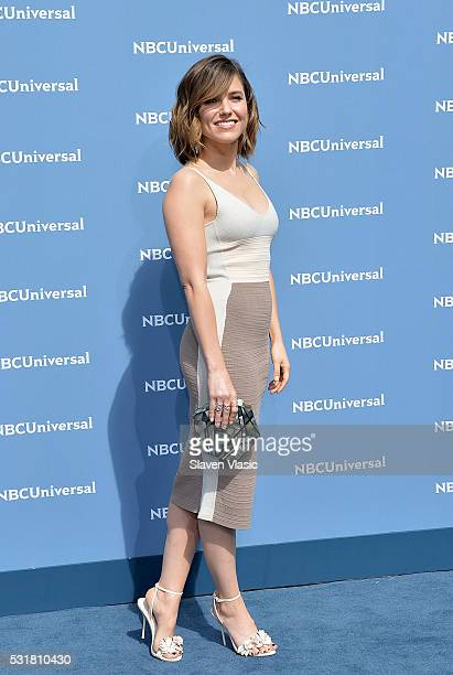 Sophia Bush attends the NBCUniversal 2016 Upfront Presentation on May 16 2016 in New York New York