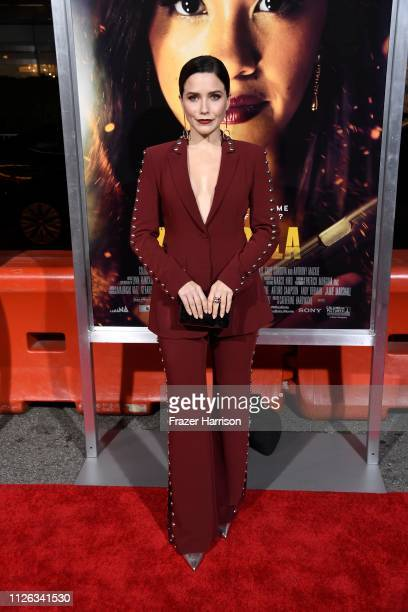 Sophia Bush attends the Premiere Of Columbia Pictures' Miss Bala at Regal LA Live Stadium 14 on January 30 2019 in Los Angeles California