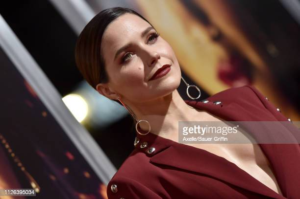 Sophia Bush attends the premiere of Columbia Pictures' 'Miss Bala' at Regal LA Live Stadium 14 on January 30 2019 in Los Angeles California