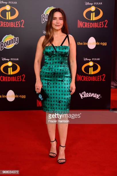 Sophia Bush attends the premiere of Disney and Pixar's Incredibles 2 at the El Capitan Theatre on June 5 2018 in Los Angeles California