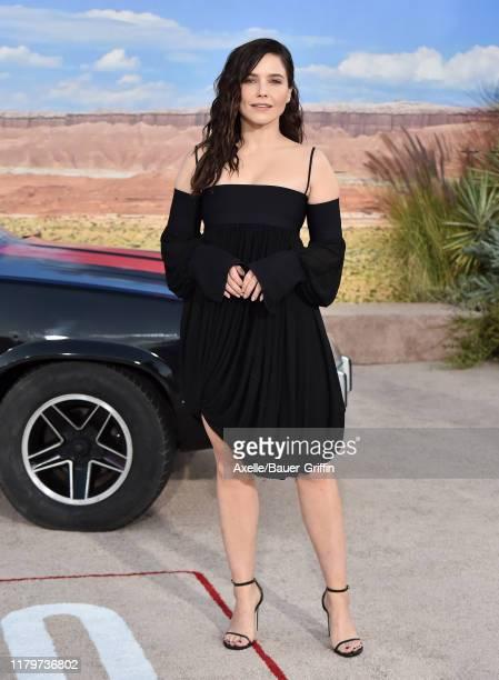 "Sophia Bush attends the Premiere of Netflix's ""El Camino: A Breaking Bad Movie"" at Regency Village Theatre on October 07, 2019 in Westwood,..."