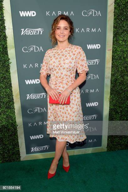 Sophia Bush attends the Runway To Red Carpet hosted by Council of Fashion Designers of America Variety and WWD at Chateau Marmont on February 20 2018...