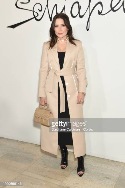 Sophia Bush attends the Schiaparelli Haute Couture Spring/Summer 2020 show as part of Paris Fashion Week on January 20 2020 in Paris France