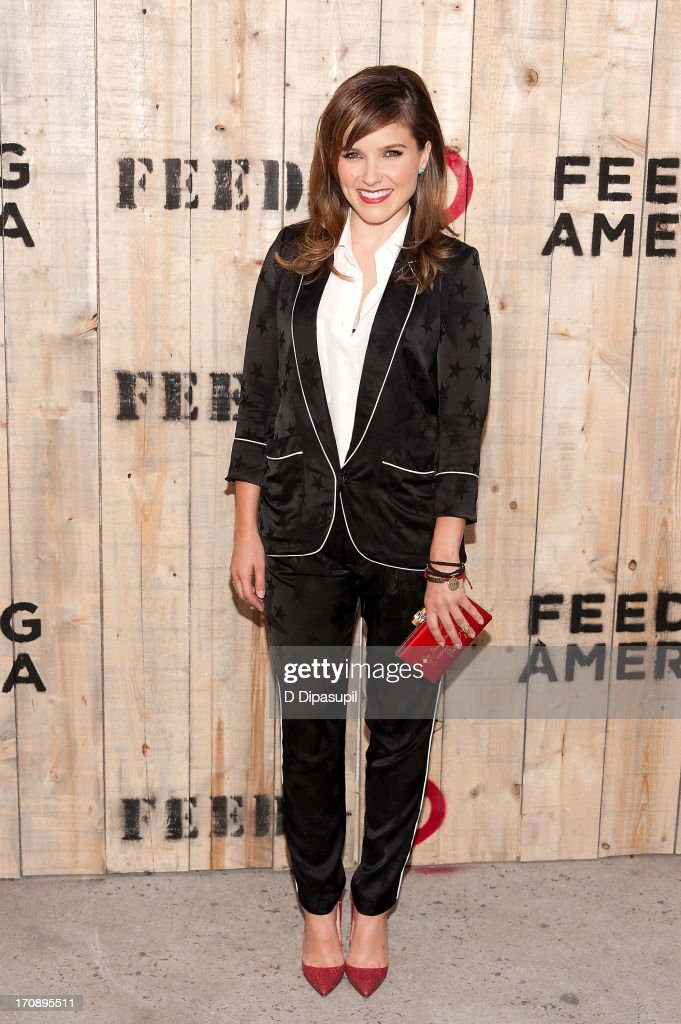 Sophia Bush attends the Target FEED Collaboration launch at Brooklyn Bridge Park on June 19, 2013 in New York City.