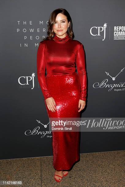 Sophia Bush attends the The Hollywood Reporter's 9th Annual Most Powerful People In Media at The Pool on April 11, 2019 in New York City.