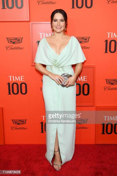 Sophia Bush attends the TIME 100 Gala Red Carpet at Jazz at Lincoln Center on April 23, 2019 in New York City.