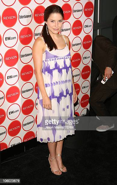 Sophia Bush during Entertainment Weekly's 4th Annual Pre-Emmy Party at Republic in West Hollywood, California, United States.