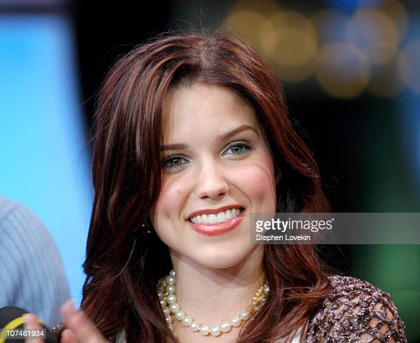 """Sophia Bush during Green Day, Gavin Degraw and the Cast of """"One Tree Hill"""" visit MTV's """"TRL"""" - November 1, 2004 at MTV Studios, Times Square in New..."""