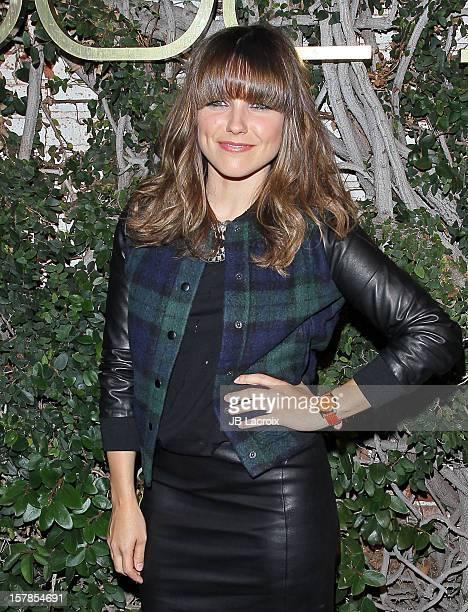 Sophia Bush is seen on December 6 2012 in Los Angeles California