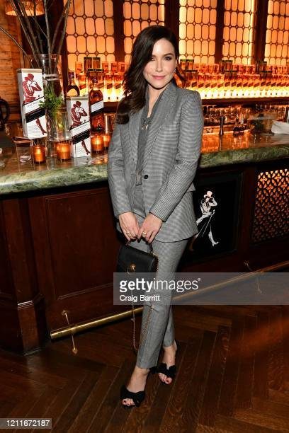 Sophia Bush joins Jane Walker by Johnnie Walker and the ERA Coalition in standing with the Equal Rights Amendment at The Campbell Bar on March 10...