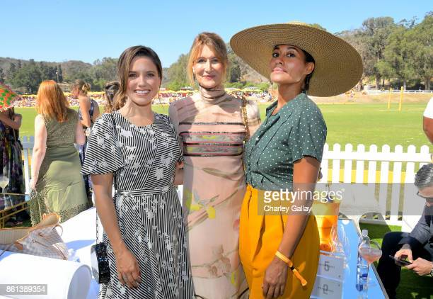 Sophia Bush Laura Dern and Tracee Ellis Ross at the Eighth Annual Veuve Clicquot Polo Classic on October 14 2017 in Los Angeles California