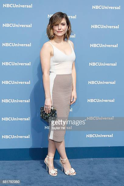 Sophia Bush of Chicago PD on NBC attends the NBCUniversal 2016 Upfront on May 16 2016 in New York New York