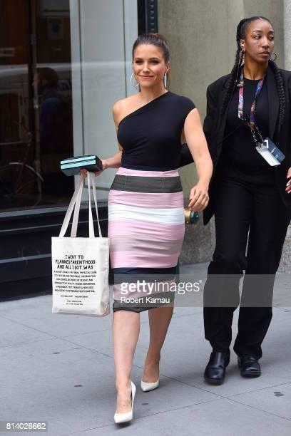 Sophia Bush seen out in Manhattan on July 13 2017 in New York City