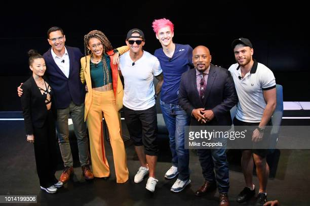 Sophia Chang Guy Raz Elaine Welteroth Casey Neistat Tyler Ninja Blevins Daymond John and Gus Kenworthy celebrate the debut of the new super powerful...