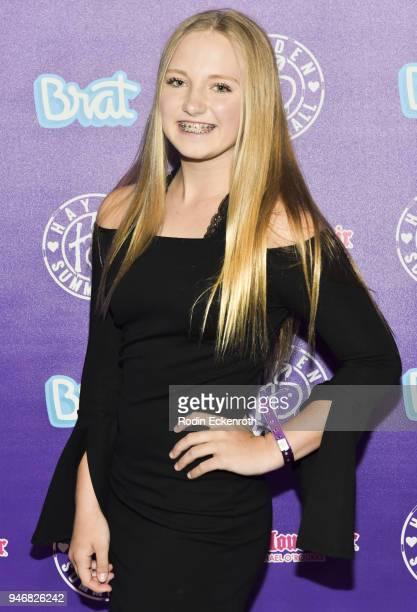 Sophia Debergh attends Hayden Summerall's 13th Birthday Bash at Bardot on April 15 2018 in Hollywood California